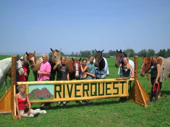 Early RiverQuest Campers