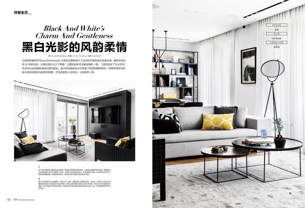 Top Decoration World magazine --April is