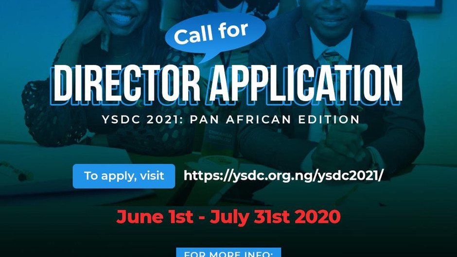 Calling for Directors for the Sustainable Development Goals