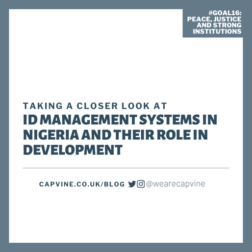 Taking A Closer Look At Identity Management Systems in Nigeria and Their Role in Development