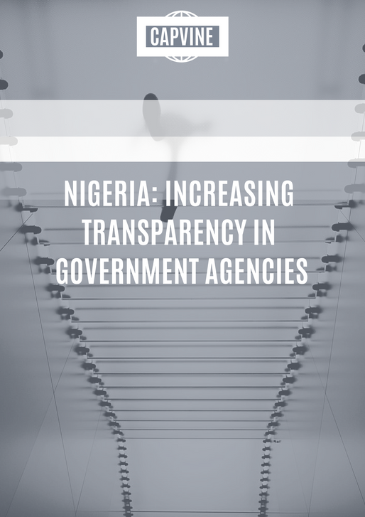 Nigeria: Increasing Transparency in Government Agencies
