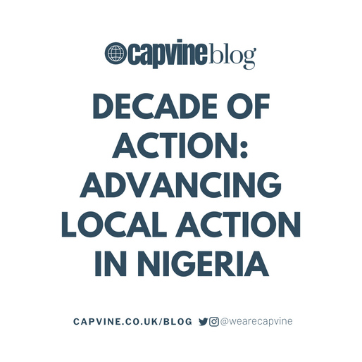 Decade of Action: Advancing Local Action in Nigeria
