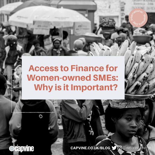 Access to Finance for Women-owned SMEs: Why is it Important?