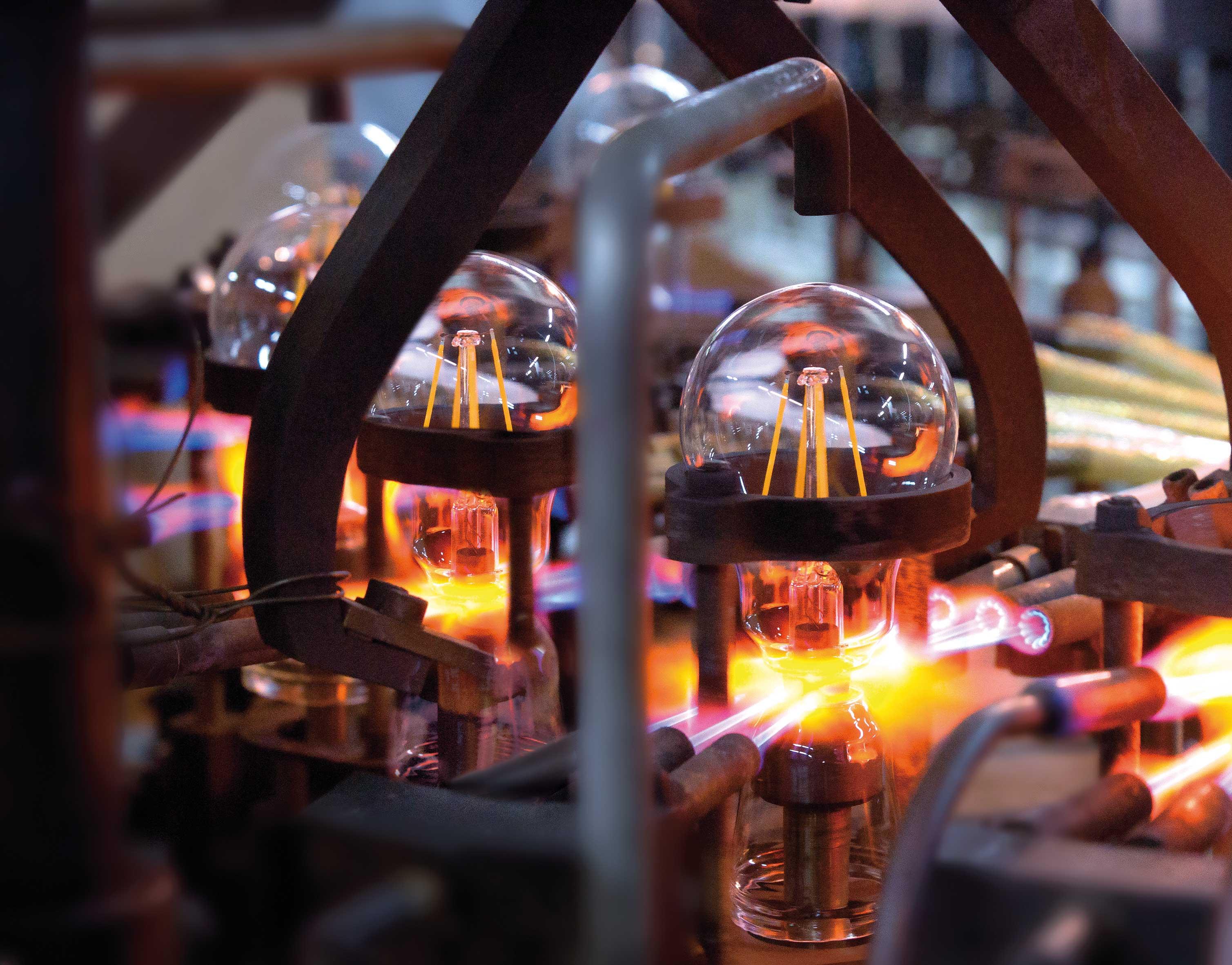 SX LED Bulb Production 1