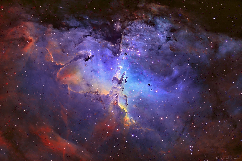 The pillars of creation (this is the start of our solar system) inspire me creativily every day