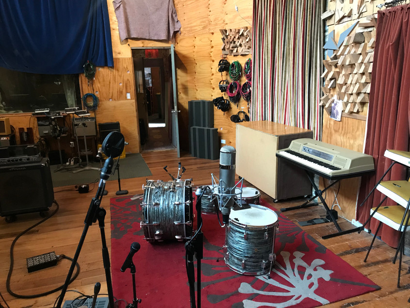 Set up of the recording space