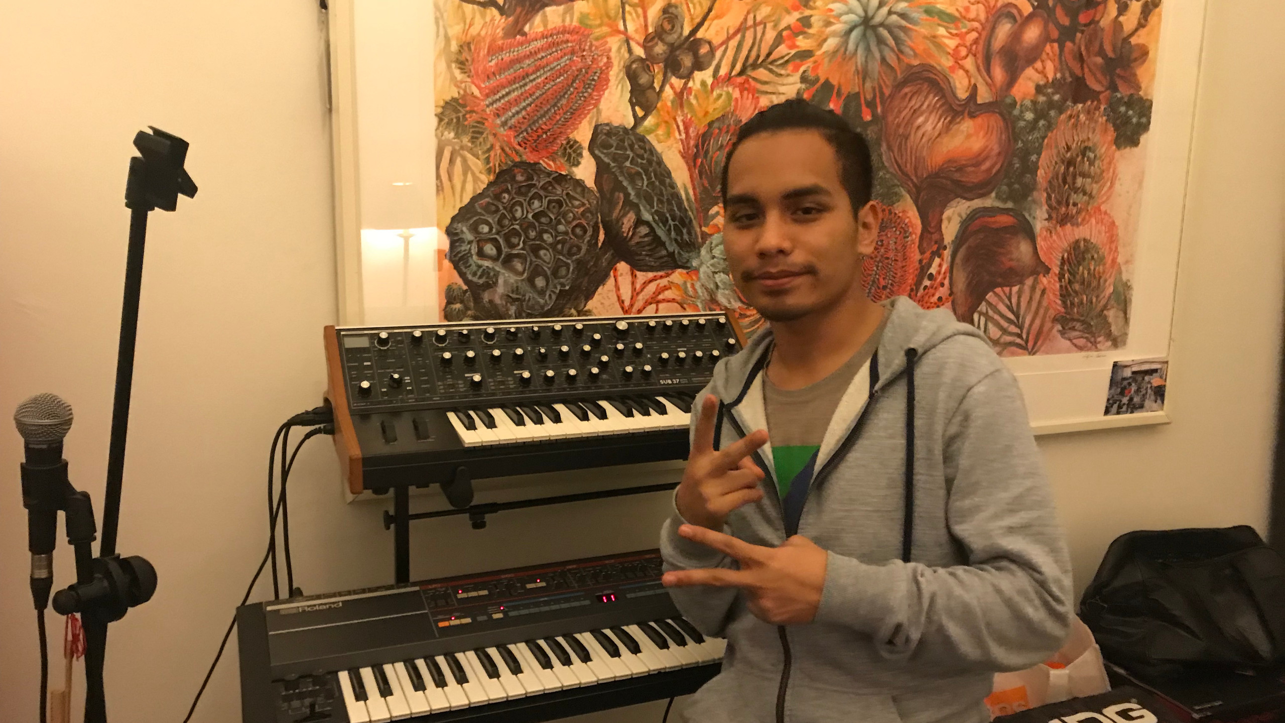 Aldie & the synths