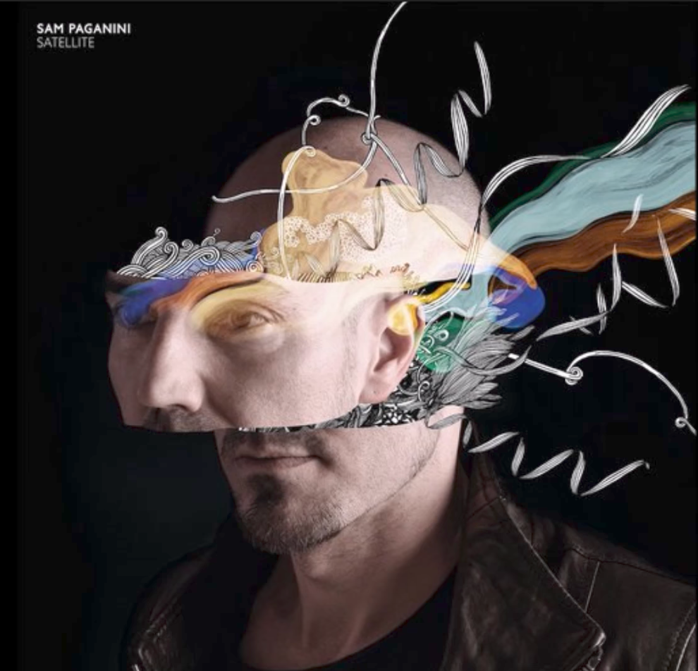 """The Album Cover for """"Satellite' by Sam Paganini, featuring perhaps the best techno track of all-time """"Rave"""" Photo courtesy of youtube"""