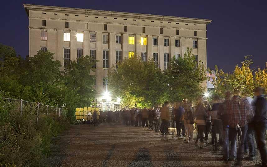 """The 'Mecca of Techno"""" Berlin's Berghain Photo credit: Getty images via thetelegraph.co.uk"""