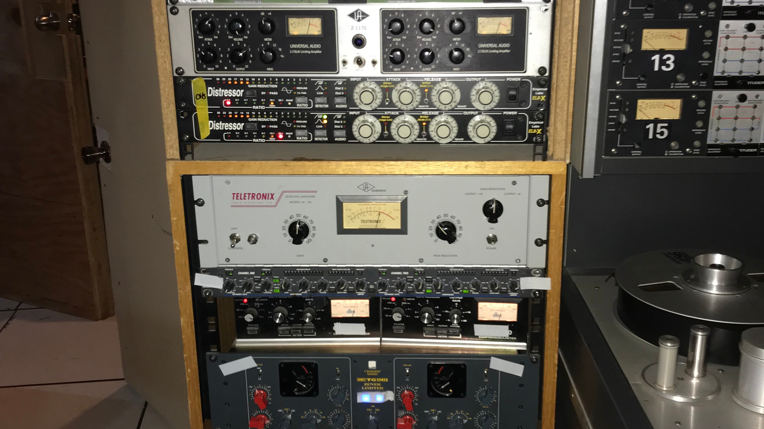 The Outboard gear