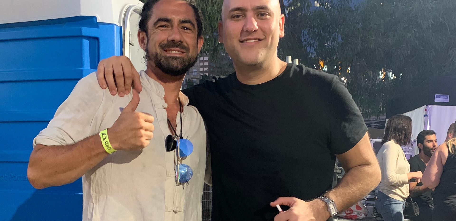 Trent with Fila at Sundown NYD_7718.JPG