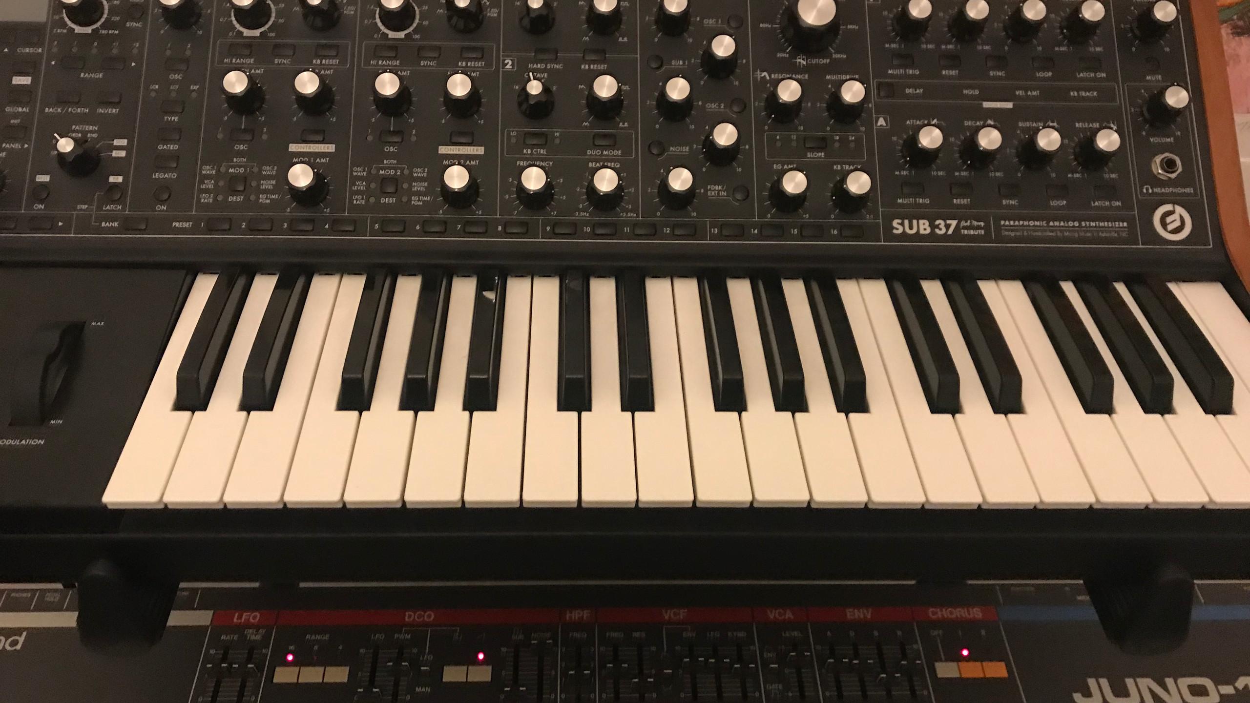 The Moog Sub 37