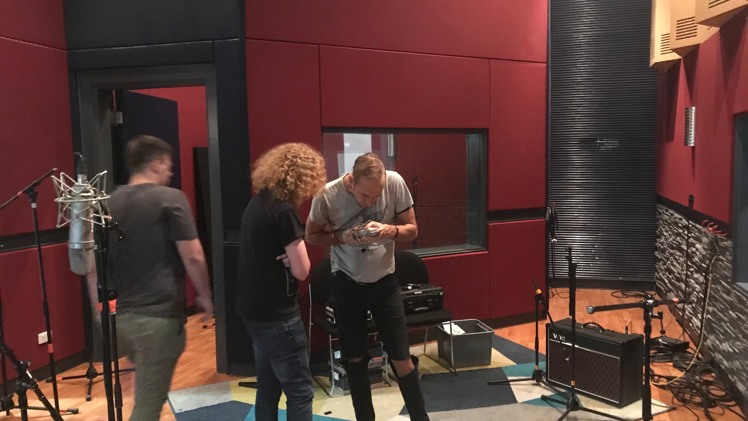 Setting up the Neve