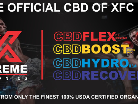 Extreme Organics Becomes the Official CBD of XFC MMA
