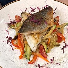 Дорадо-филе с овощным жульеном 340 г