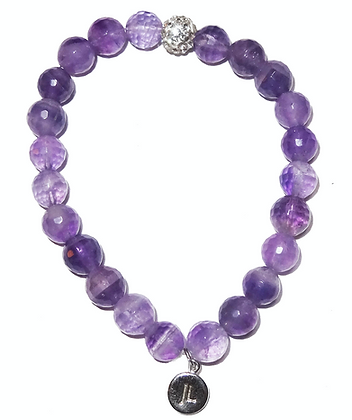 Limited Edition Amethyst Beaded Bracelet