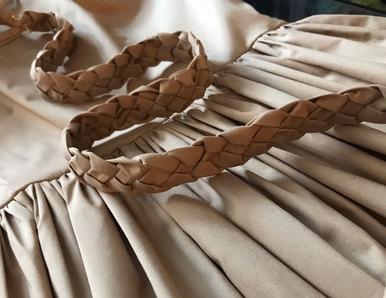 BRAID STRAP DRESS