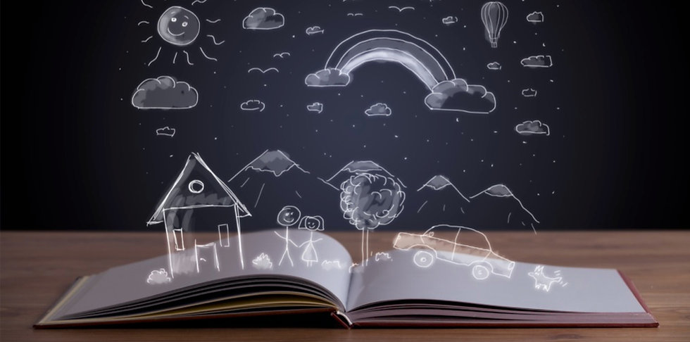 open-book-with-hand-drawn-landscape-pict