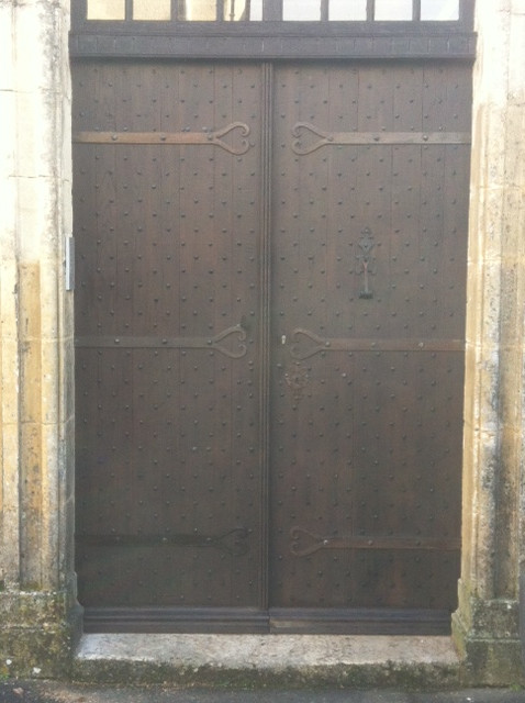 Aubeterre front door 2017