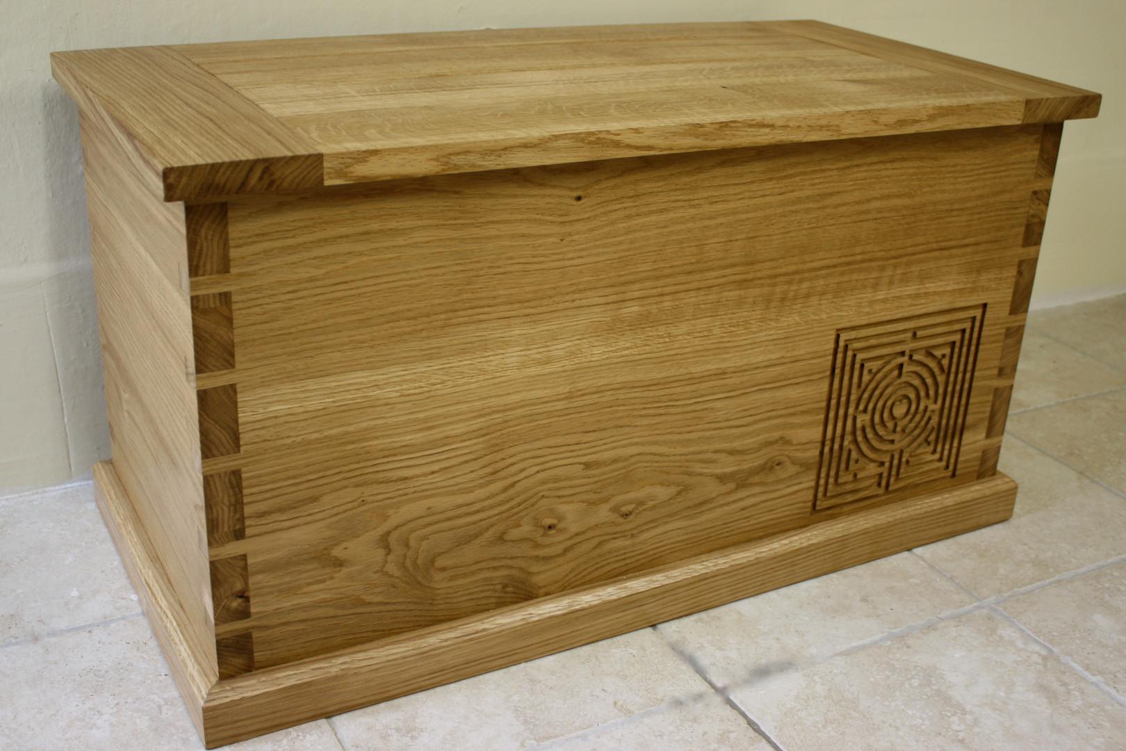 wedding chest, client's design
