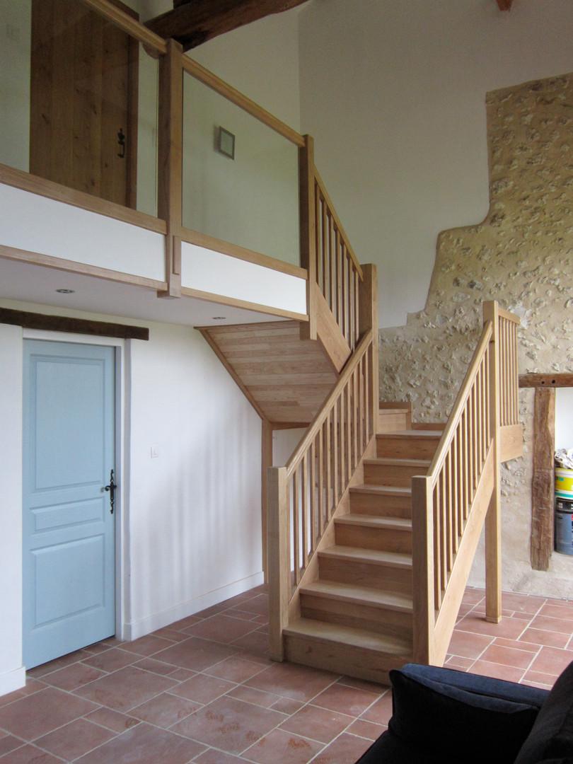 staircase_glass balustrade Chevalier