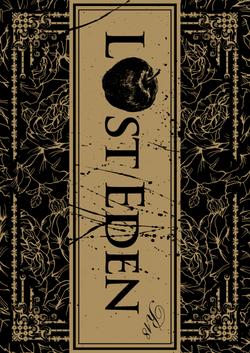 「LOST EDEN」装丁デザイン案