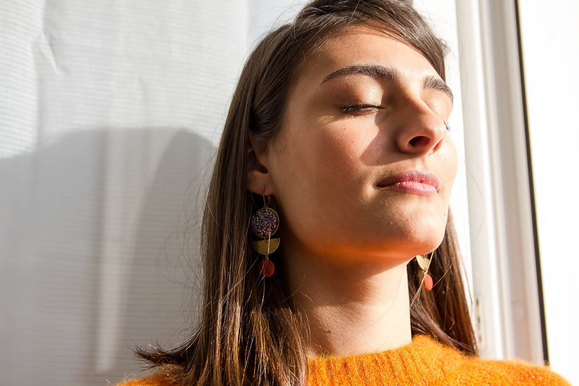 Boucles d'oreilles Mireille