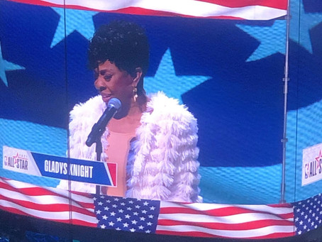 NBA ALL STAR 2021 Gladys Knight Opens the Court