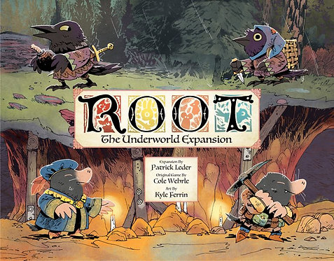 Root: The Underworld expansion (KS Edition)