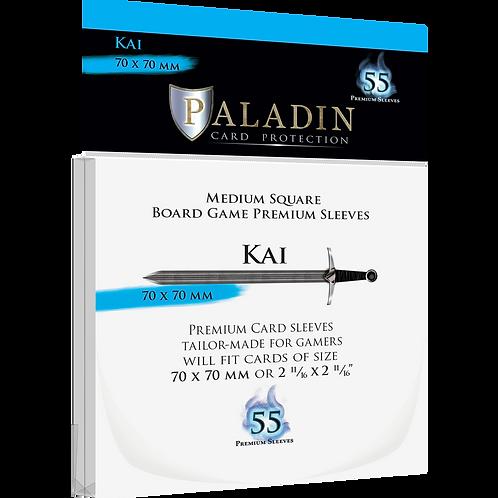 Paladin Card Sleeves: Kai (Medium Square 70*70)