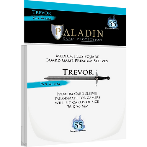 Paladin Card Sleeves: Trevor (Medium Square Plus 76*76)