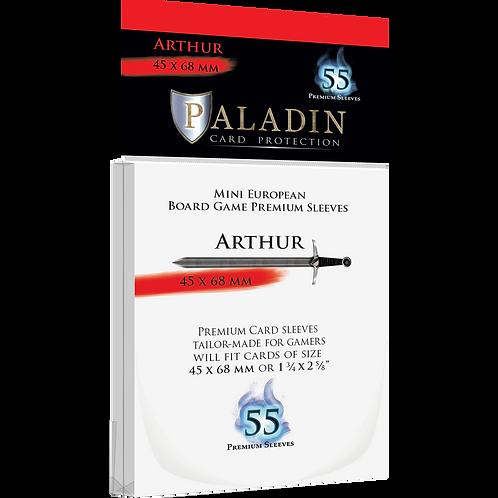 Paladin Card Sleeves: Arthur (Mini European 45*68)
