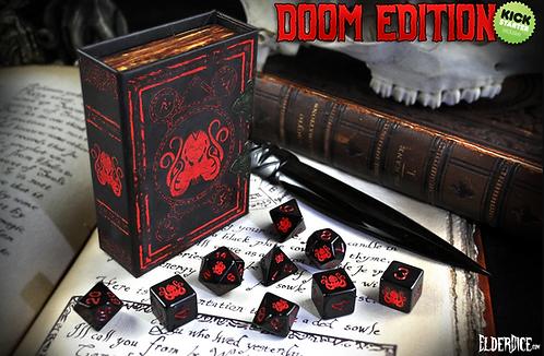 Elder Dice: Doom Edition Polyhedral dice set