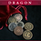 Thumbnail: Dragon coin set - Legendary metal coins