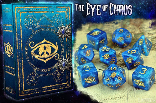 Elder Dice: The Eye of Chaos Polyhedral dice set