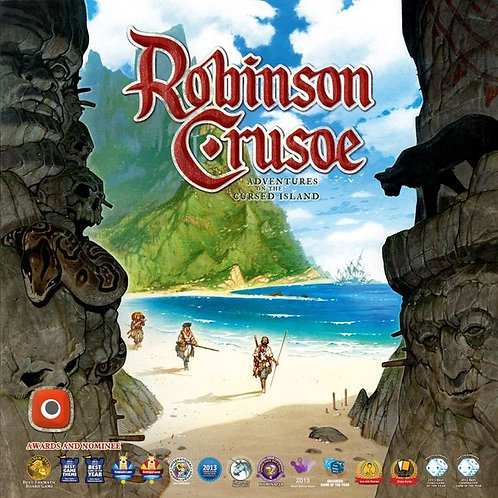 Robinson Crusoe: Adventures on the Cursed Island 2nd Edition