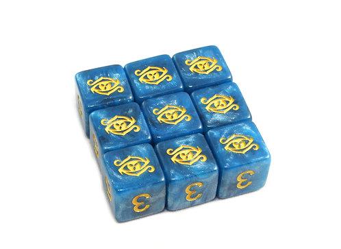 Elder Dice: The Eye of Chaos D6 set