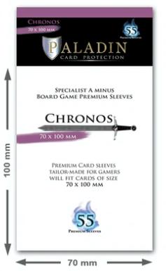 Paladin Card Sleeves: Chronos (Specialist A Minus 70*100)
