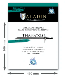 Paladin Card Sleeves: Thantos (XL Square 100*100)
