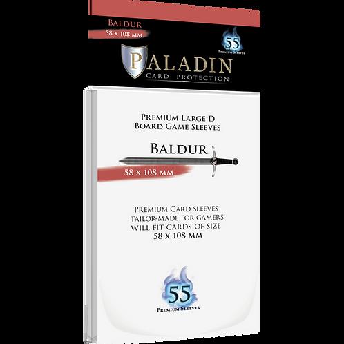 Paladin Card Sleeves: Baldur (Large D 58*108)