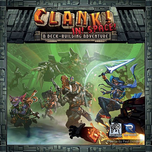Clank! In! Space!: A Deck-Building Adventure