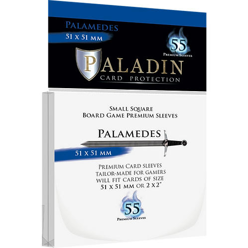 Paladin Card Sleeves: Palamedes (Small Square 51*51)