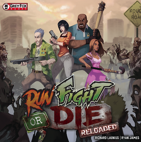 Run Fight or Die: Reloaded (Kickstarter Edition)