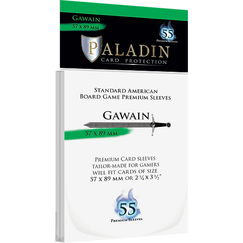 Paladin Card Sleeves: Gawain (Standard American 57*89)