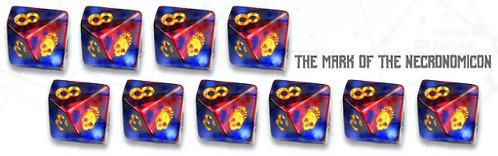 Elder Dice: Mark of the Necronomicon D10 set