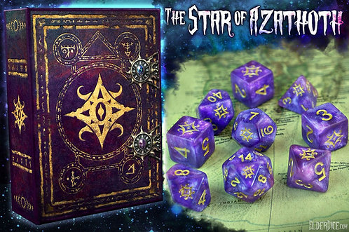 Elder Dice: The Star of Azathoth Polyhedral dice set