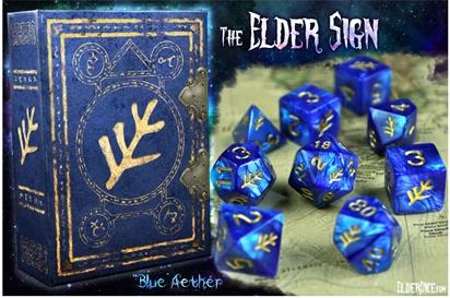 Elder Dice: The Elder Sign Polyhedral dice set