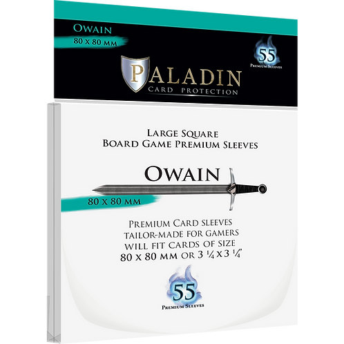 Paladin Card Sleeves: Owain (Large Square 80*80)