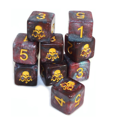 Elder Dice: The Seal of Yog-Sothoth D6 set
