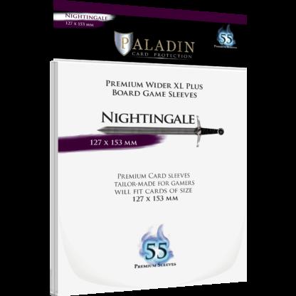 Paladin Card Sleeves: Nightingale (Wider XL Plus 127*153)